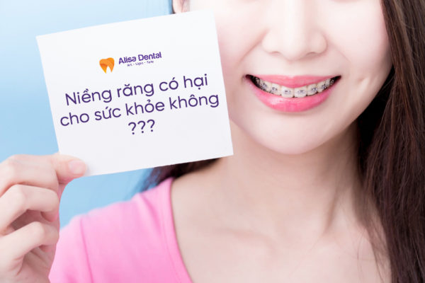 Niềng răng có hại cho sức khỏe không 1