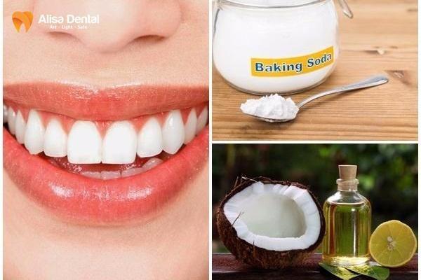 làm trắng răng bằng dầu dừa 2