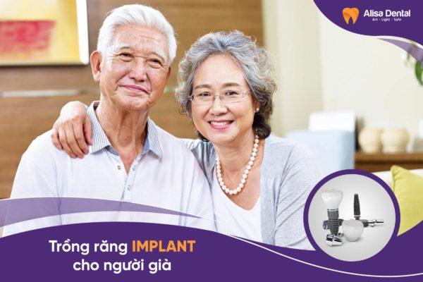 Trồng răng implant cho người già 1
