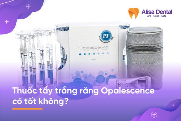Thuốc tẩy trắng răng Opalescence 2