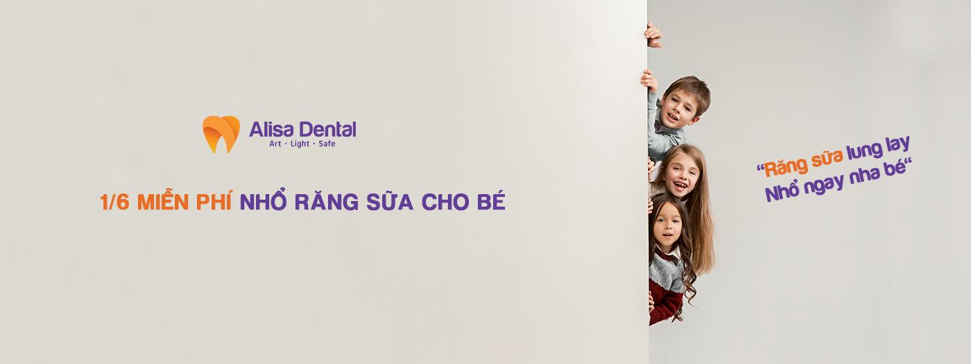 Banner miễn phí nhổ răng sữa
