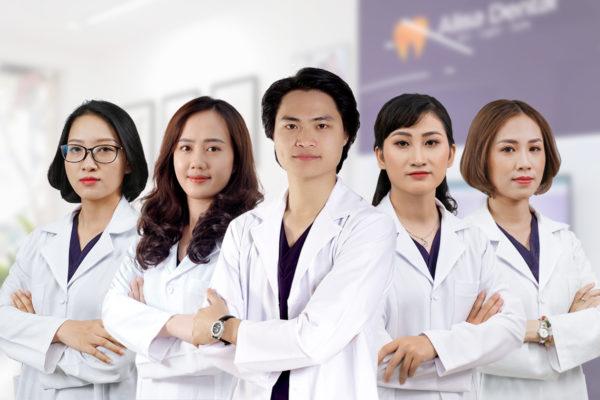 Đội ngũ bác sĩ của Nha khoa Alisa